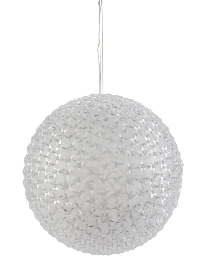 AM Design LED-Outdoor-Kugel Sterne, warmweiß
