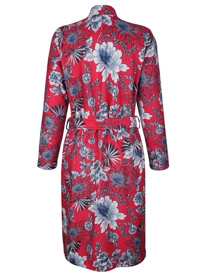 Robe de chambre à superbe motif floral