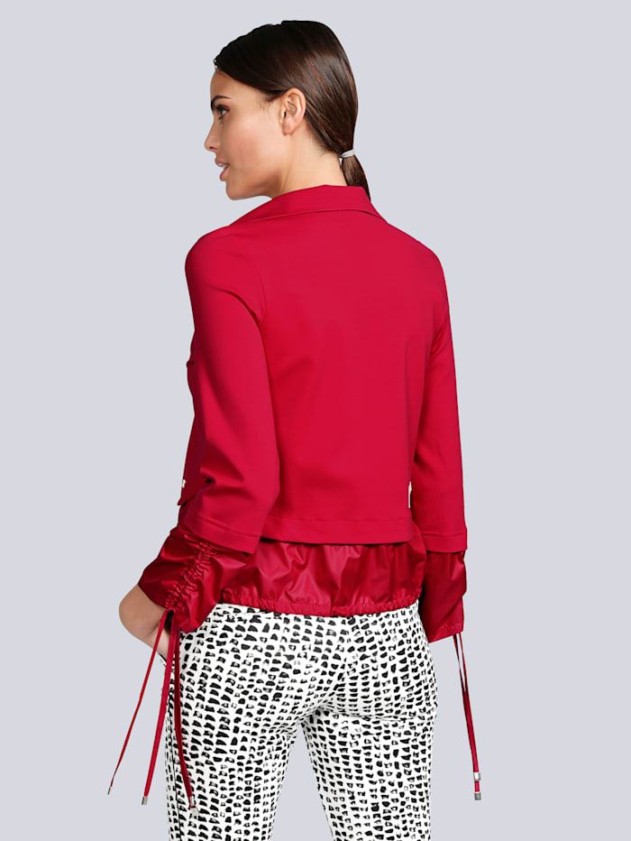 Jacke aus hochwertiger und dickerer Ware