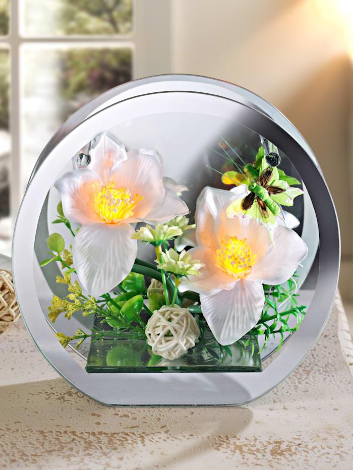 Leuchtendes Orchideen-Arrangement