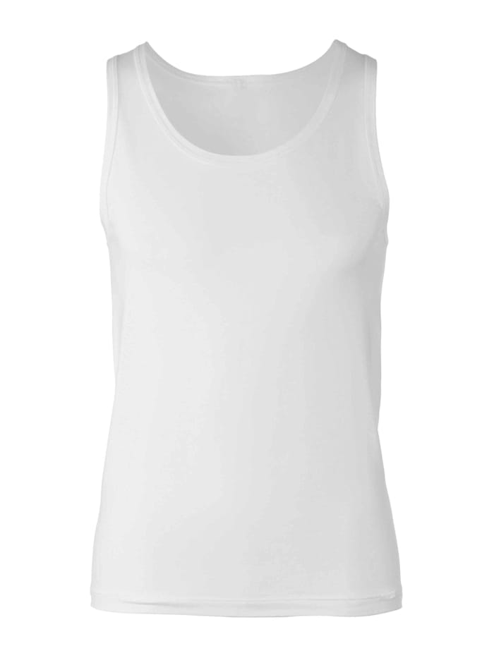 Calida Athletic-Shirt STANDARD 100 by OEKO-TEX zertifiziert, White