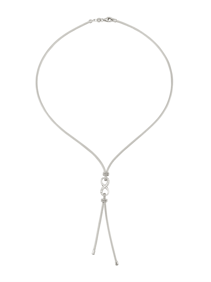 Inifinity-Collier, Silberfarben