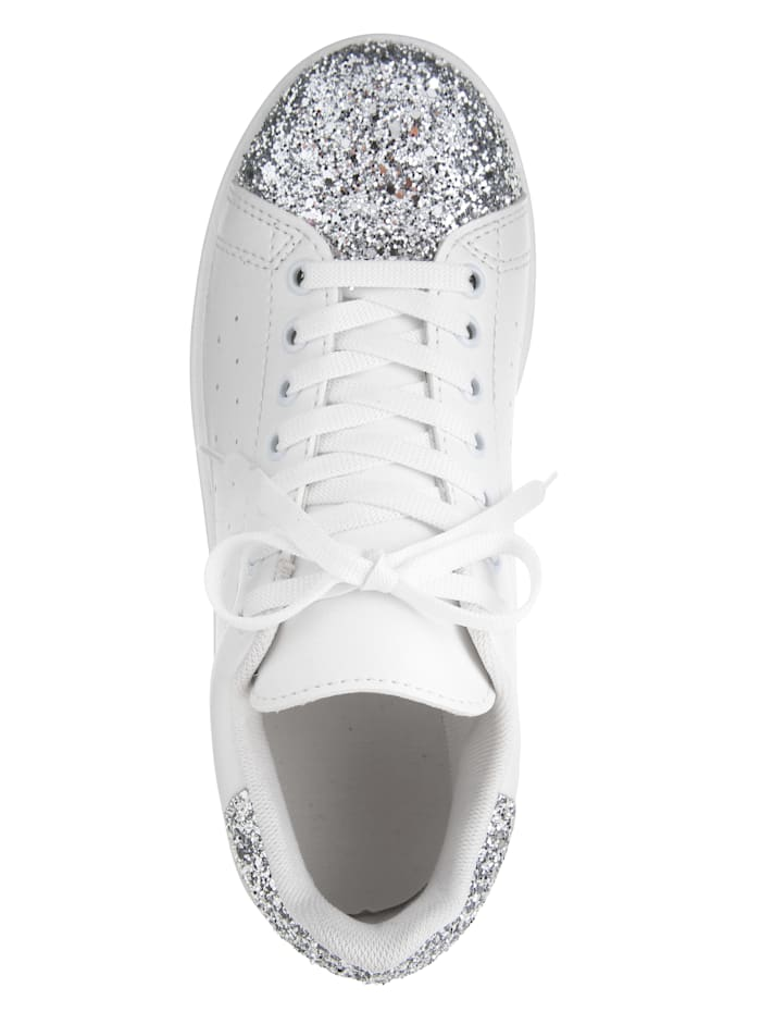 Sneakers med glitter