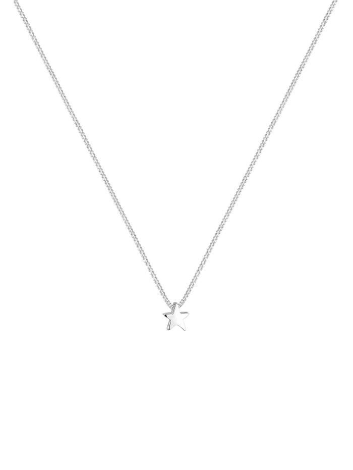 Halskette Stern Filigran Astro Basic 925 Sterling Silber