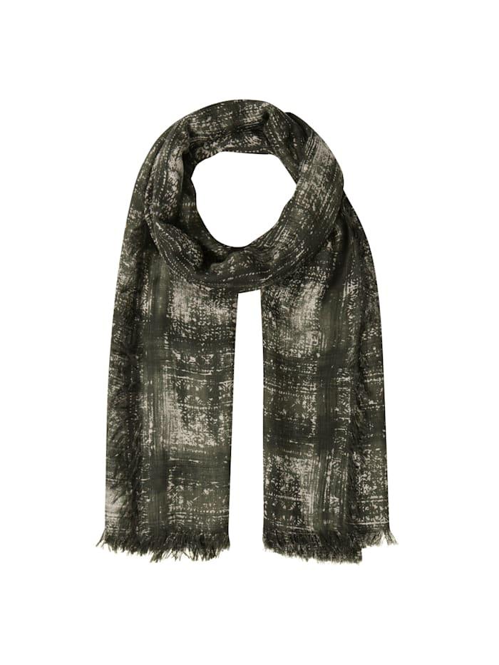 Codello Premium Schal aus Modal und Kaschmir – Made in Italy, olive