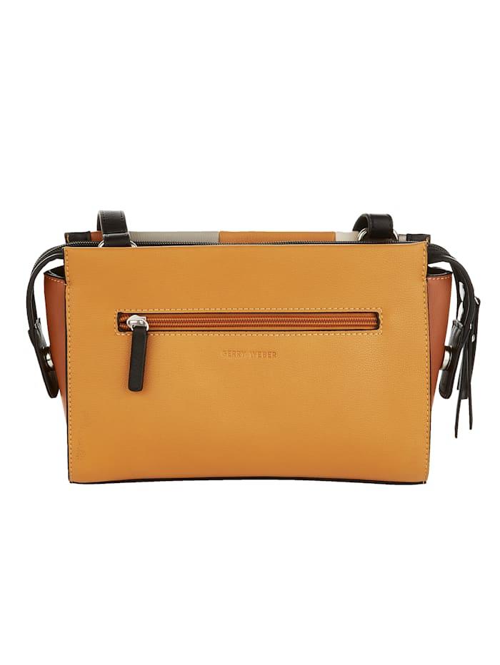 Shoulder Bag Chic vertical stripe design