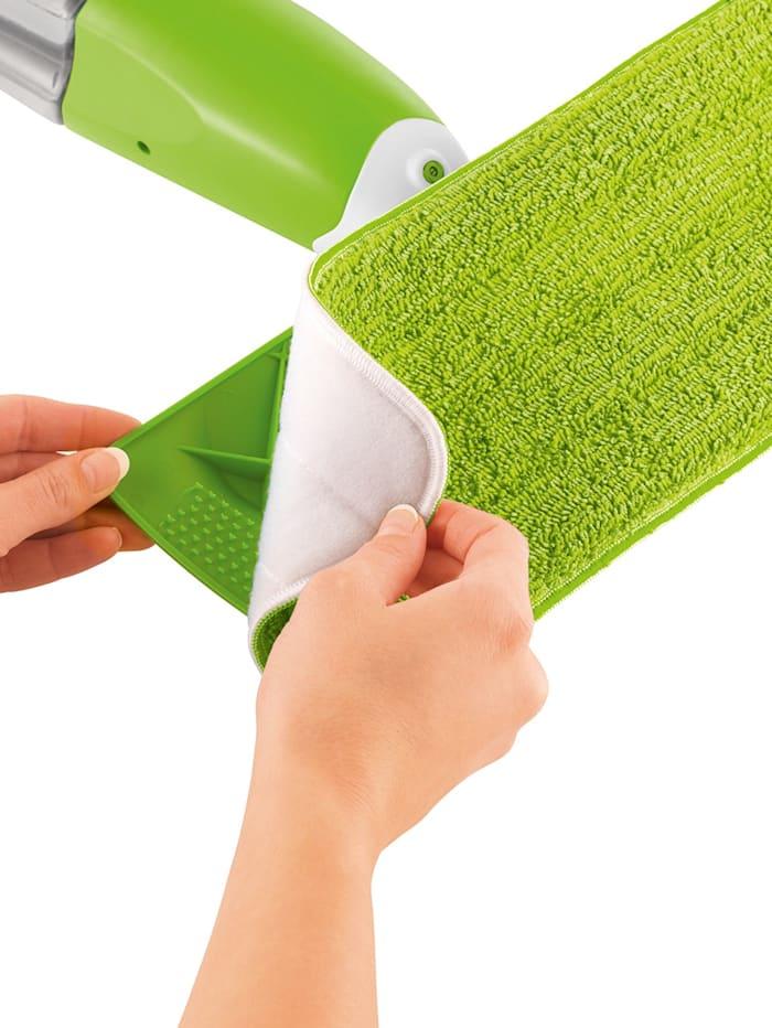 Mr. Maxx Ekstrakluter for Mr. Maxx spraymopp, grønn