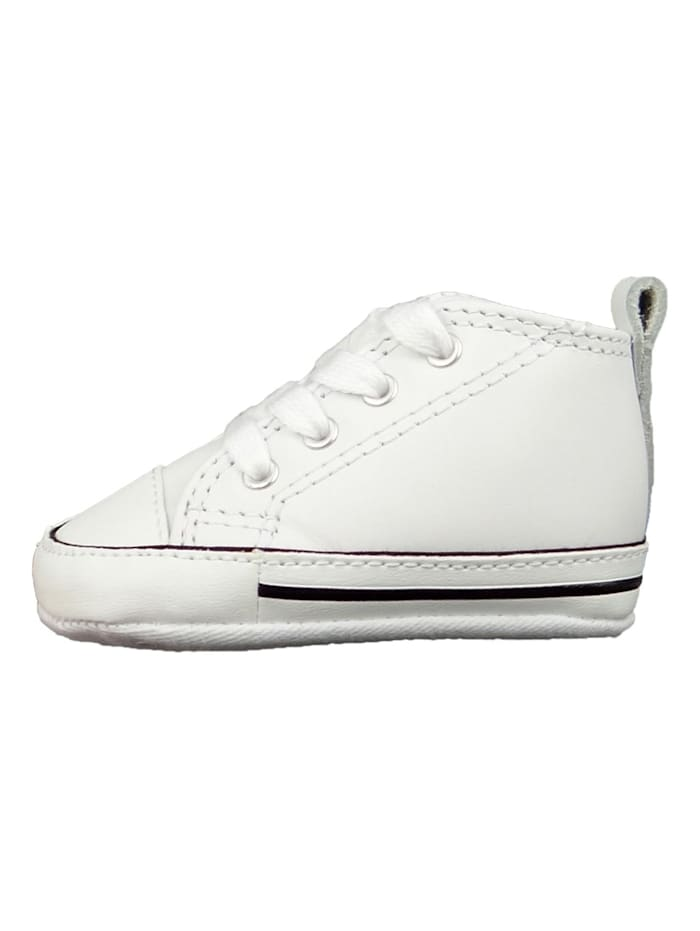 first_shoe Baby Chucks 81229 First Star Weiss