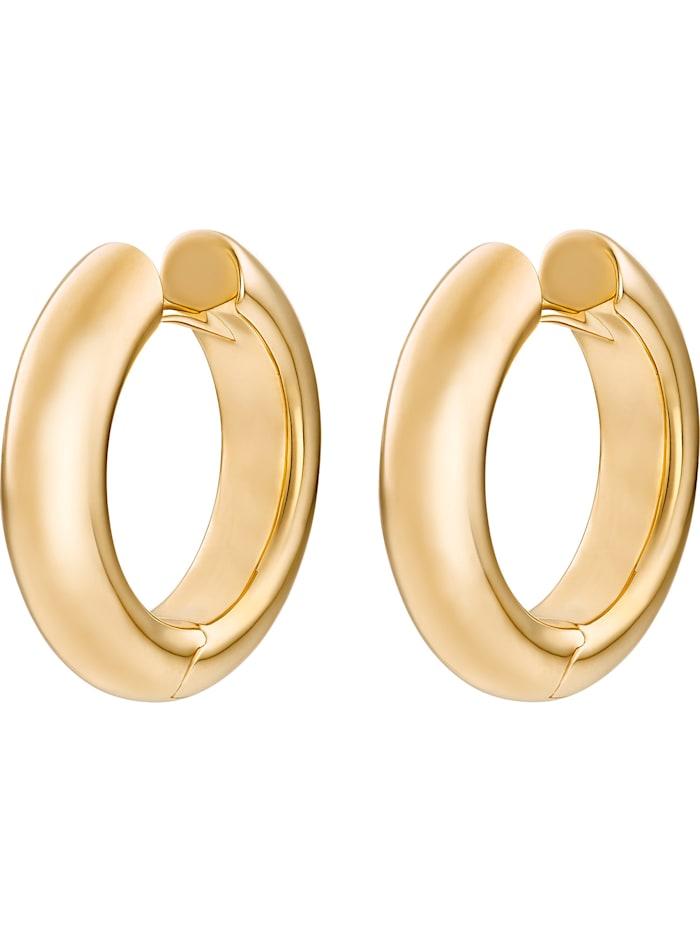 CHRIST GOLD CHRIST Gold Damen-Creolen 585er Gelbgold, gold