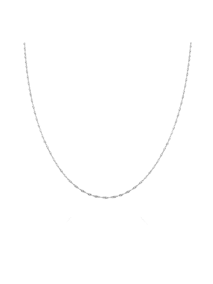 GOOD.designs Silberkette Silber 925 I Halsketten, silber