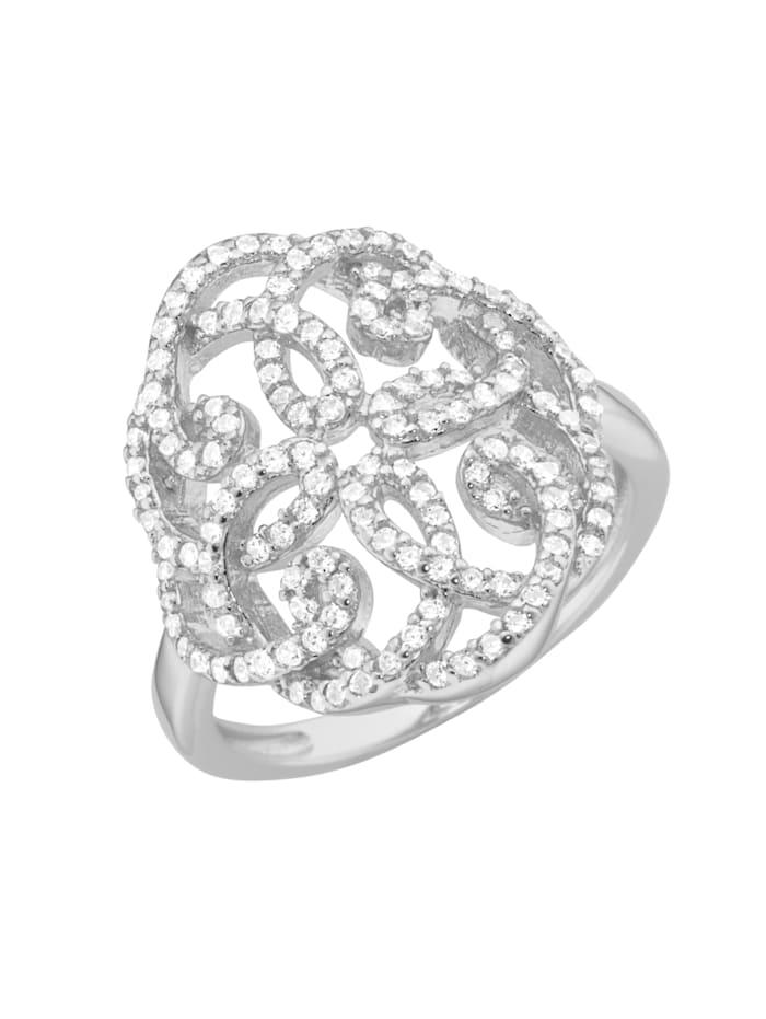 Giorgio Martello Ring Ornament, Weiss