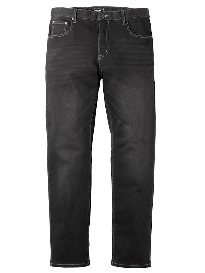 Men Plus Jeans van jogdenim, Black stone