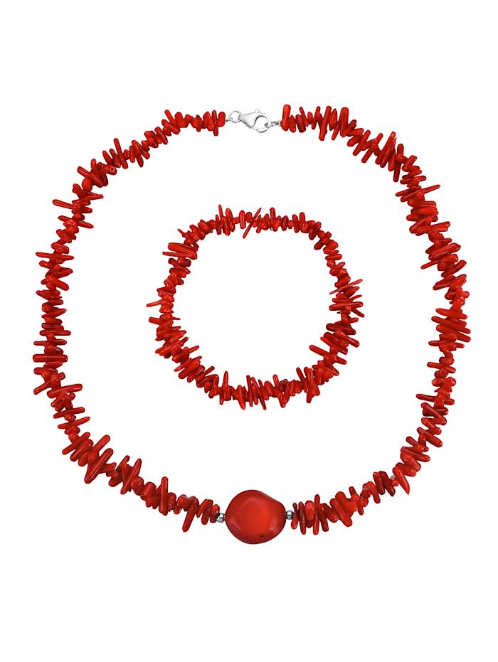 Korusetti, 2-os., Punainen