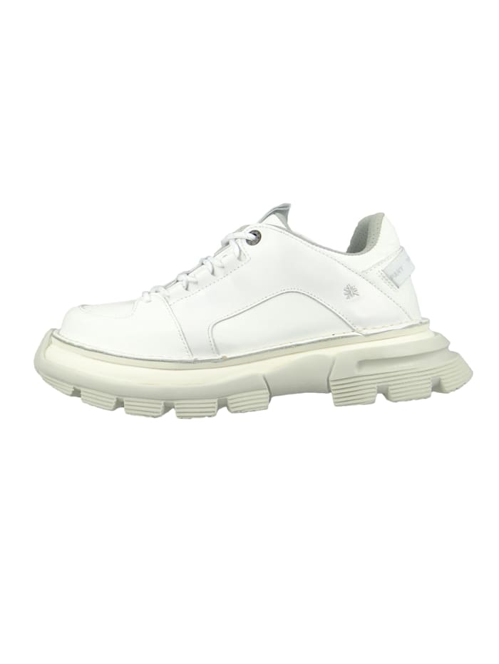 Damen Leder Sneaker CORE1 White Weiß 1651