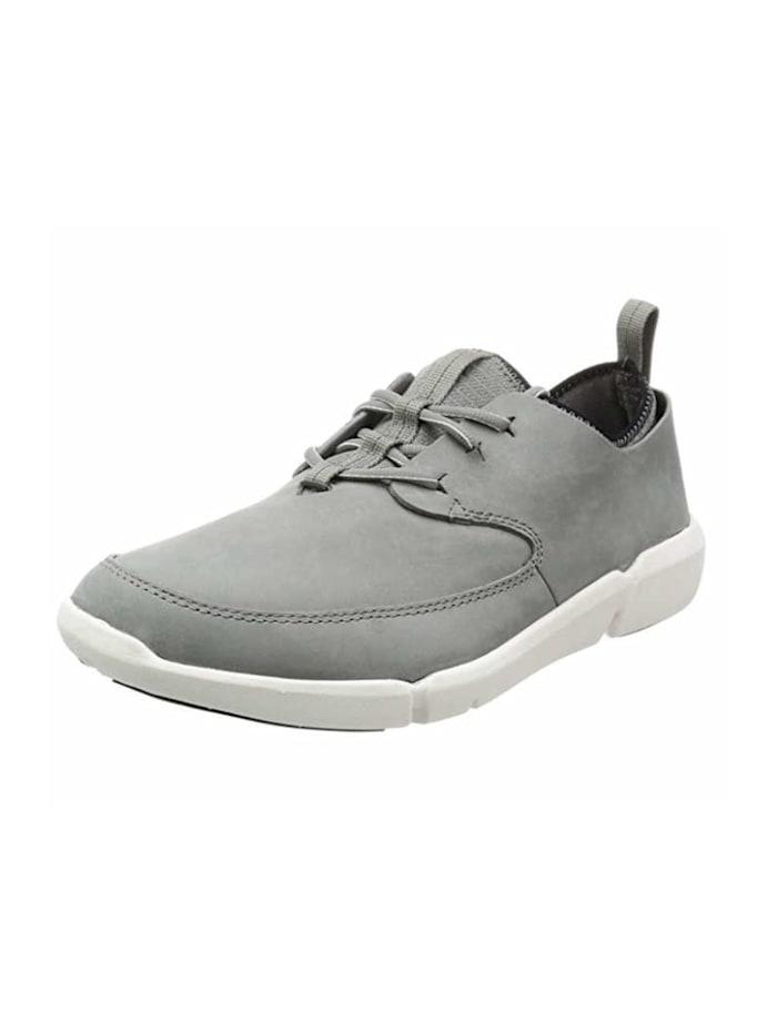 Clarks Schnürschuhe, grau