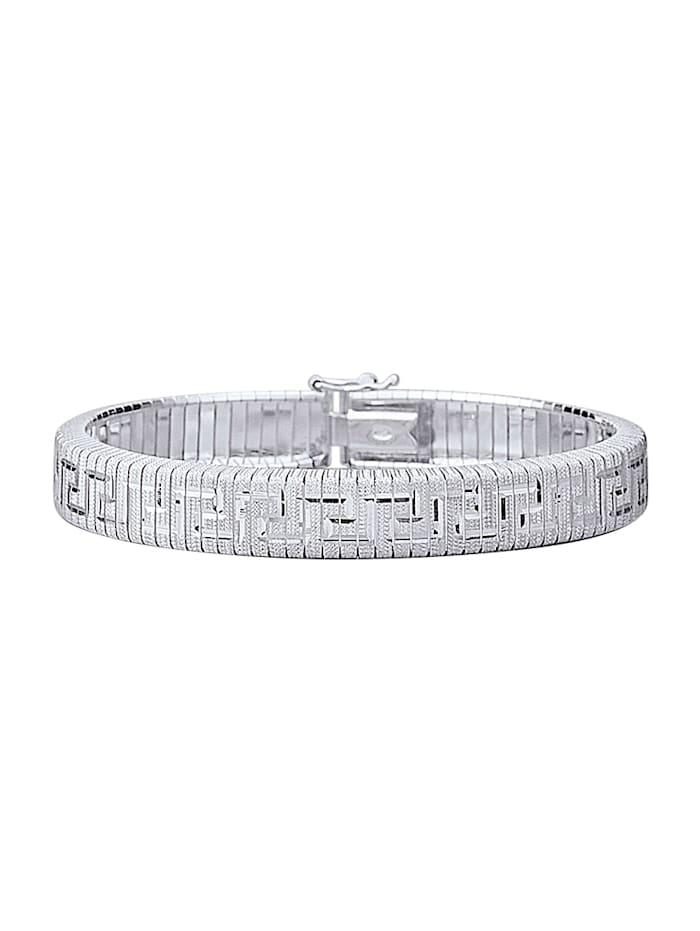 Bracelet maille royale en argent