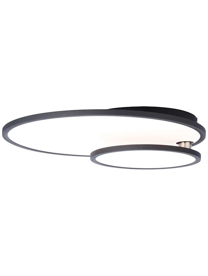 Brilliant Bility LED Deckenaufbau-Paneel 61x45cm schwarz/weiß easyDim, schwarz/weiß