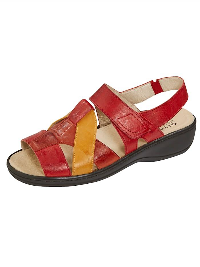 Naturläufer Sandale, Rot