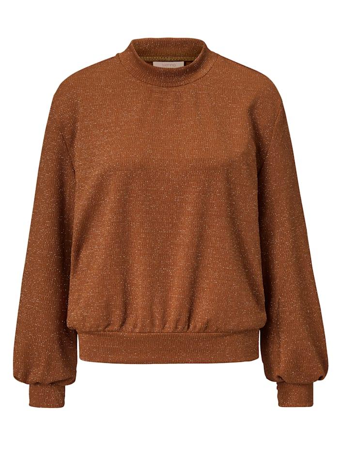 SIENNA Sweatshirt, Bronzefarben