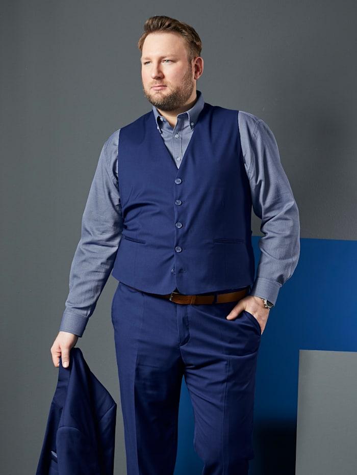 Men Plus Gilet met verstelbare pat achter, Royal blue