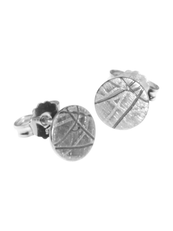 OSTSEE-SCHMUCK Ohrstecker - Sarah Vicenza - Silber 925/000 - ,, silber