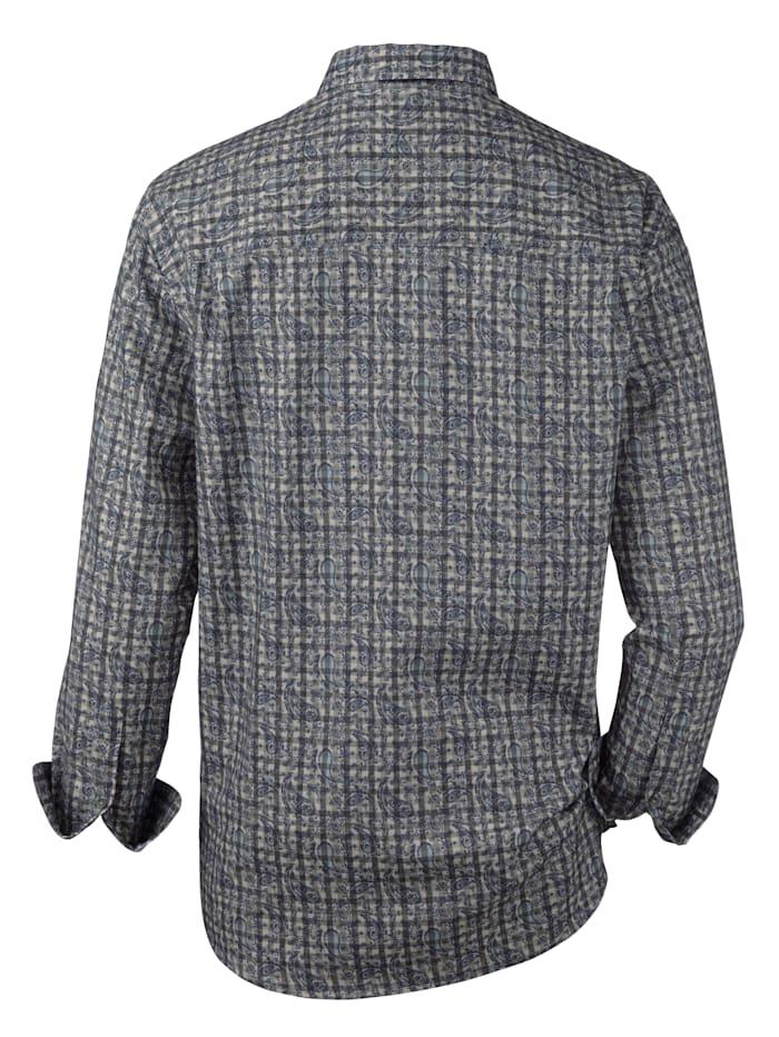Skjorta i mjuk flanell