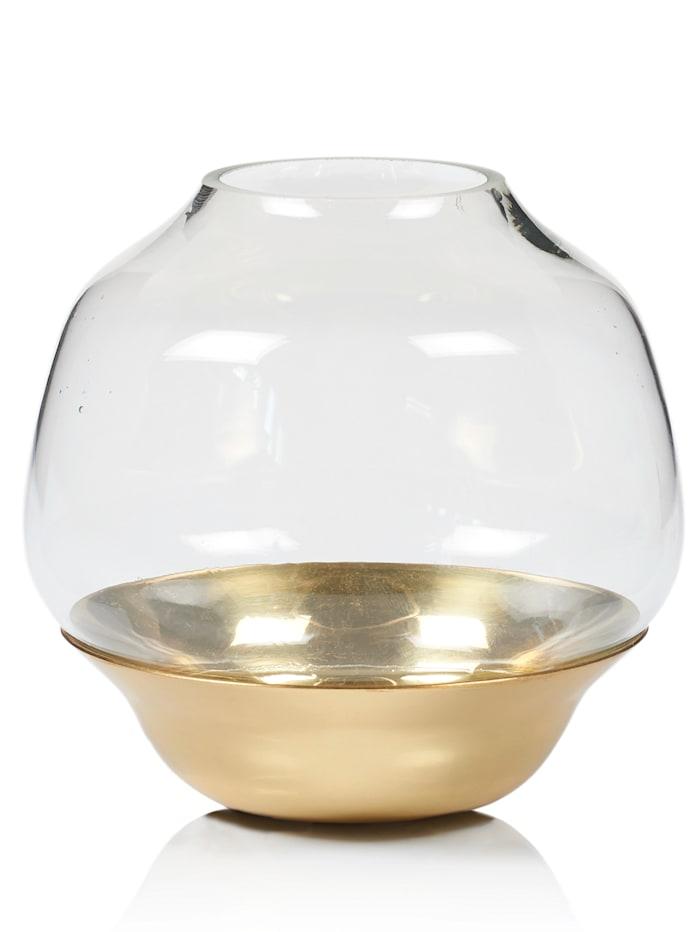 IMPRESSIONEN living Teelichthalter-Set, gold