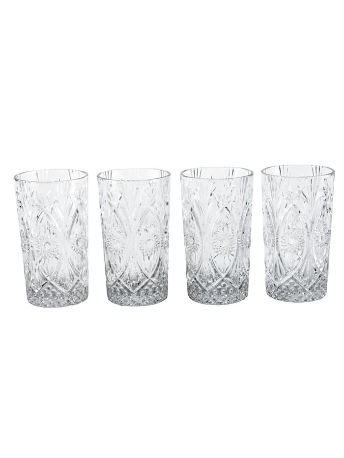 IMPRESSIONEN living Glas-Set, 4-tlg., klar