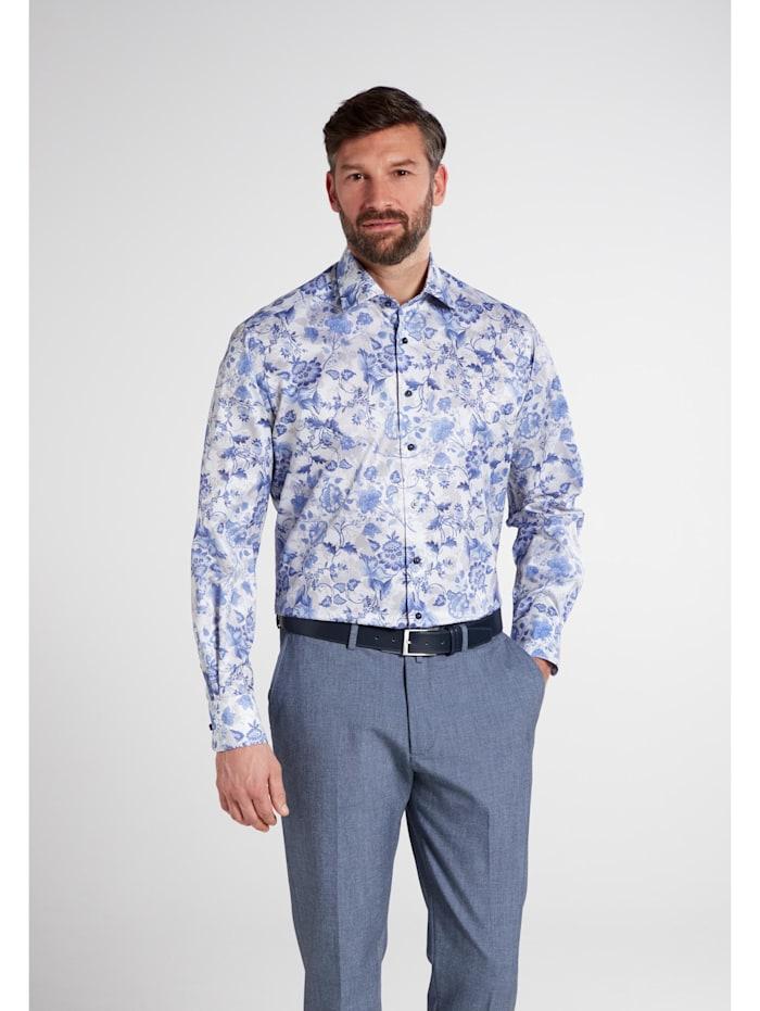Eterna Eterna Langarm Hemd COMFORT FIT Eterna Langarm Hemd COMFORT FIT, blau/grau