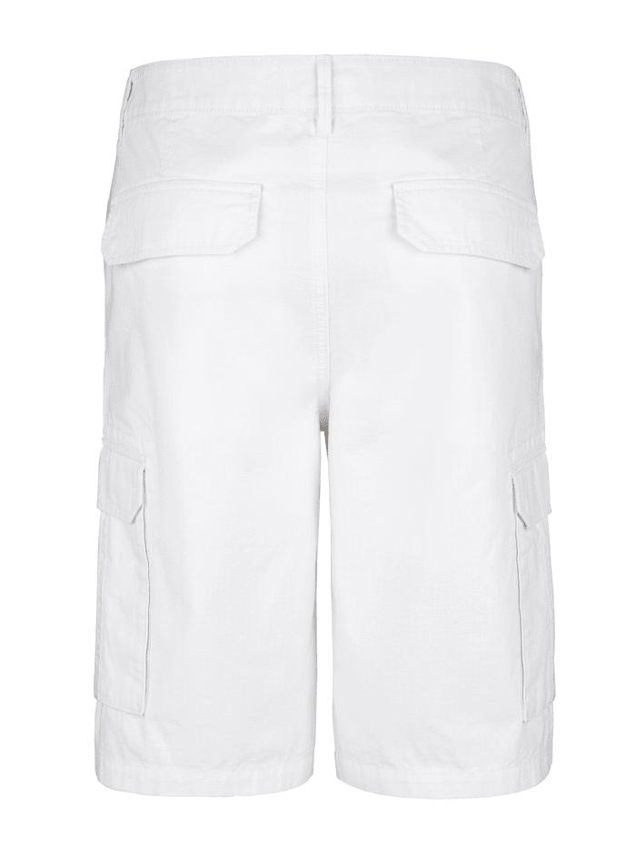 Shorts med benfickor