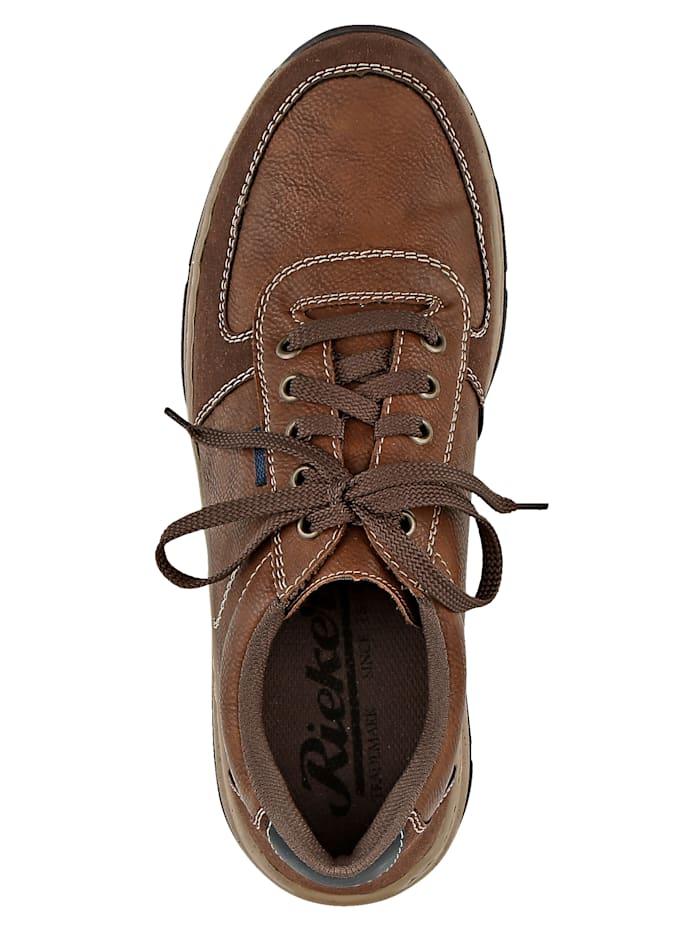 Šněrovací obuv s kontrastním prošíváním