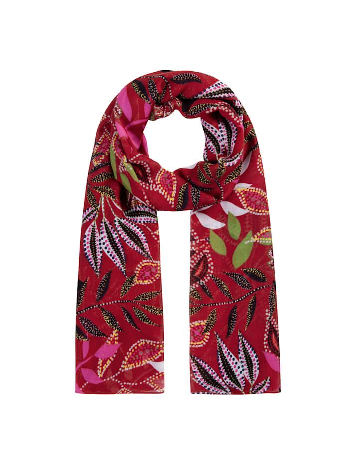 Codello Edel-Schal aus nachhaltiger LENZING™ ECOVERO™ Viskose, dark red