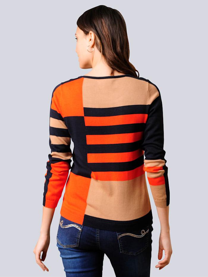 Pullover im exklusiven Dessin nur bei Alba Moda erhältlich