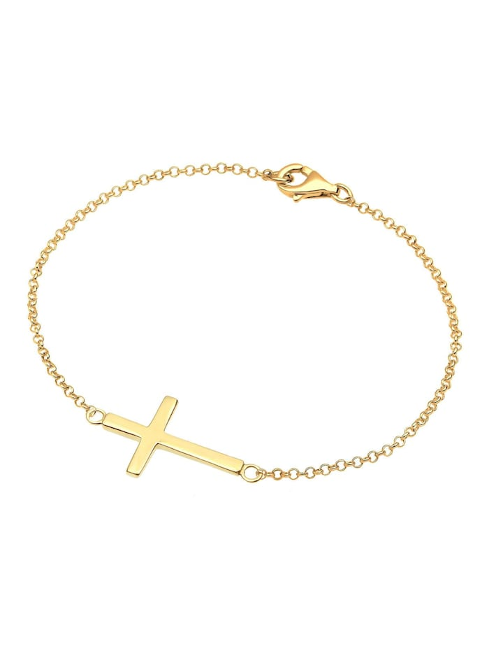 Armband Symbol Religion Kreuz Filigran Trend 925 Silber