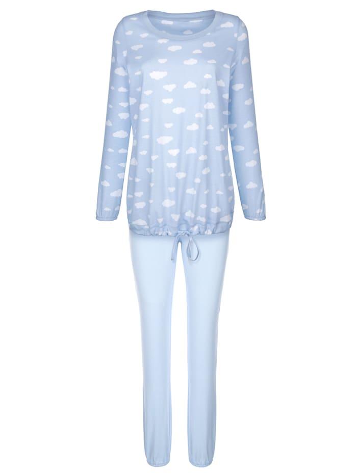 Schlafanzug mit nützlichem Bindeband