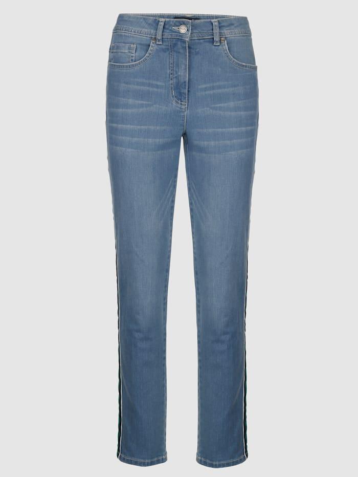 Jeans i ankellängd