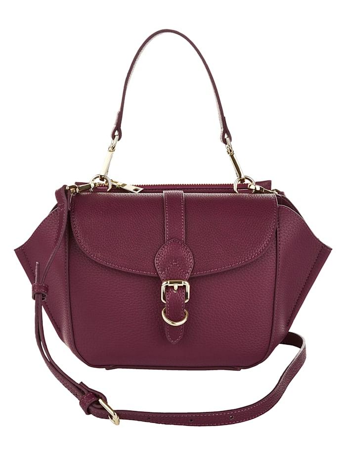 CINQUE Handtasche aus hochwertigem Softmaterial, bordeaux