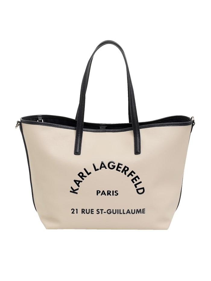 Karl Lagerfeld Tasche, beige