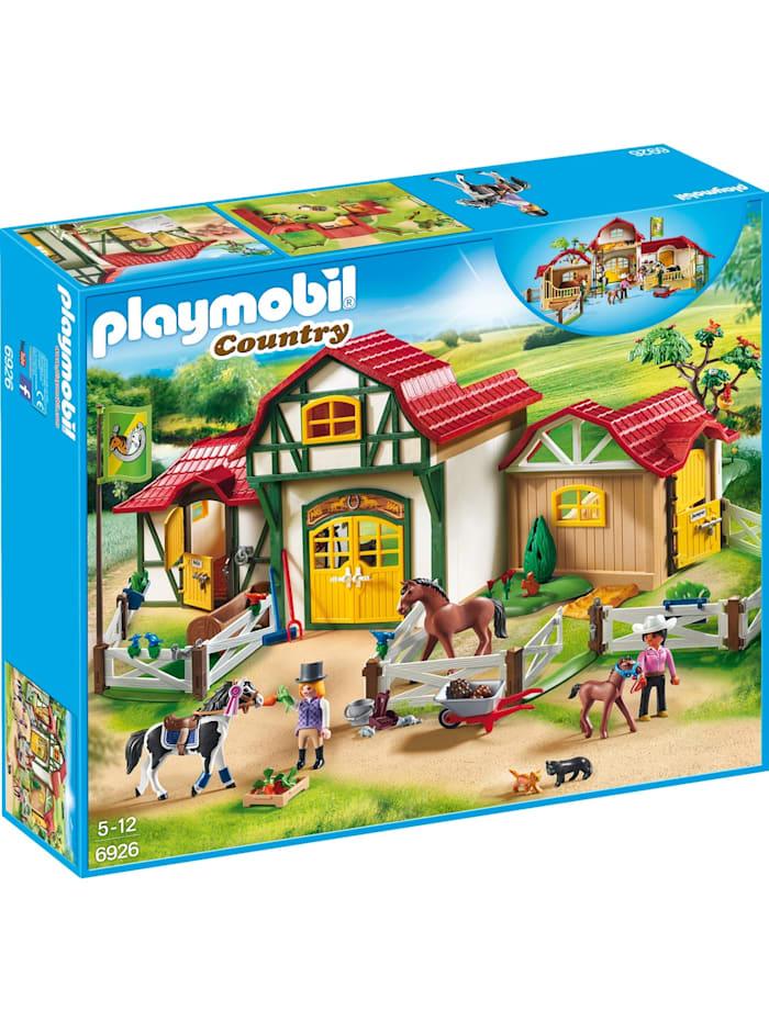 PLAYMOBIL Konstruktionsspielzeug Großer Reiterhof, bunt/multi