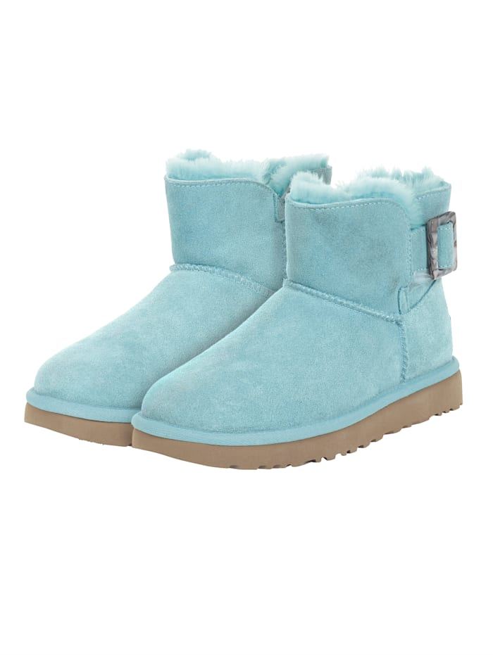 UGG MINI BAILEY FASHION BUCKLE, Türkis