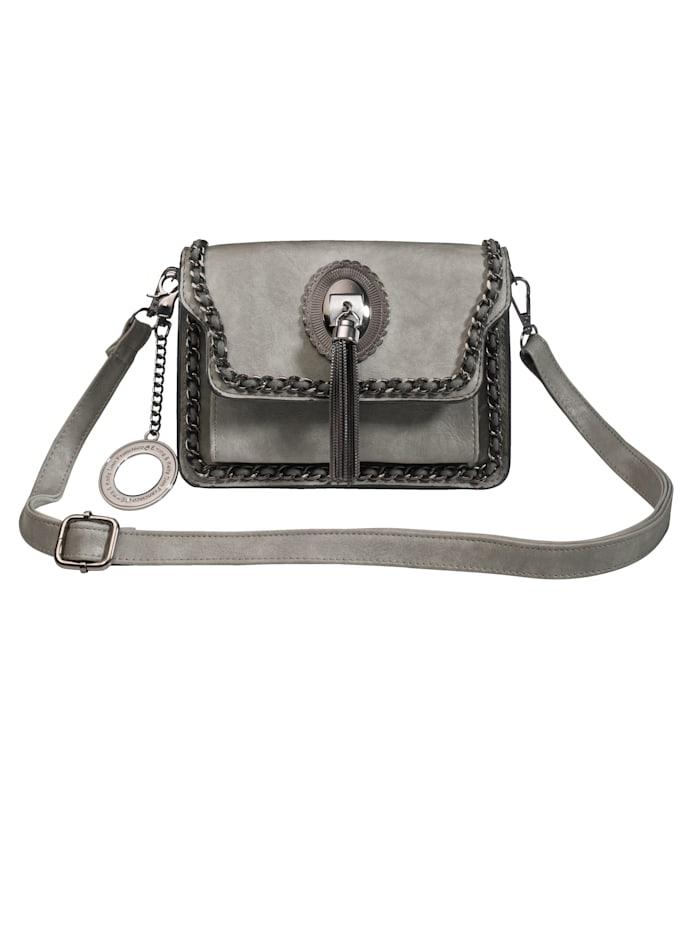 Shoulder Bag with decorative detailing