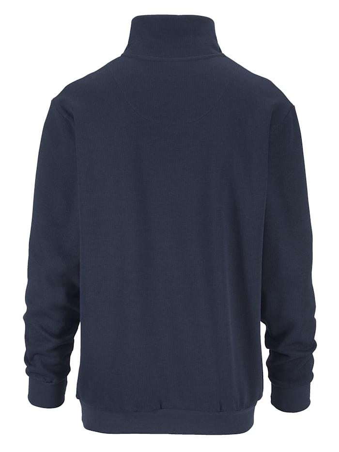 Sweatshirt met luxueuze details