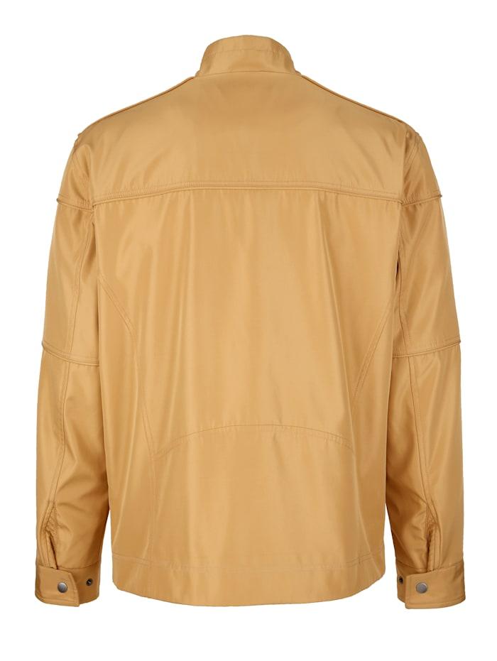 Jacke mit modischen Paspelierungen