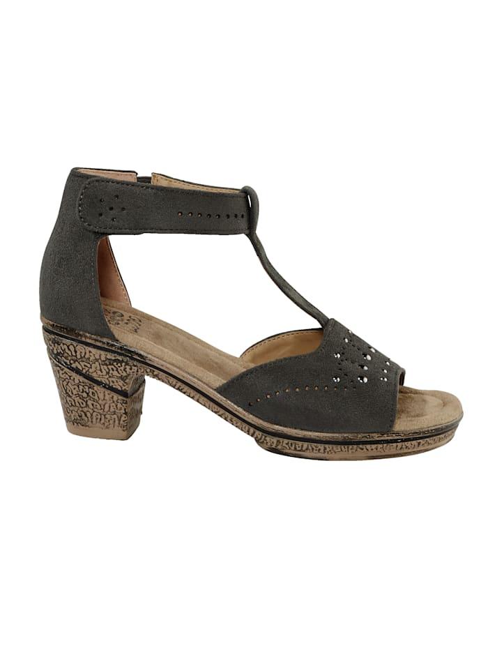 Sandales à bride arrière auto-agrippante