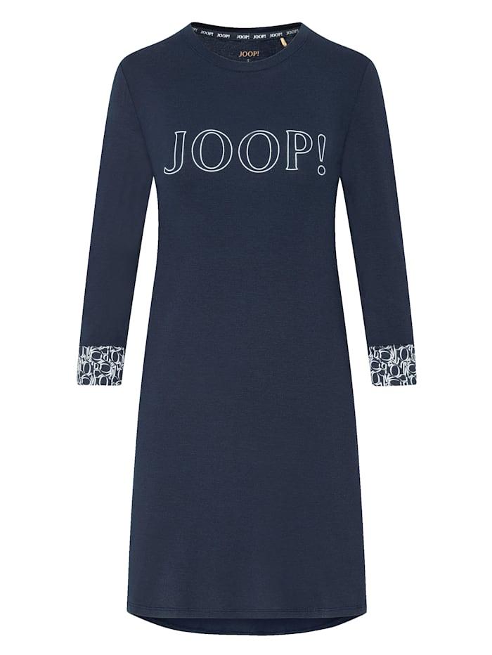 JOOP! Bigshirt aus der Serie Soft Elegance, Nachtblau