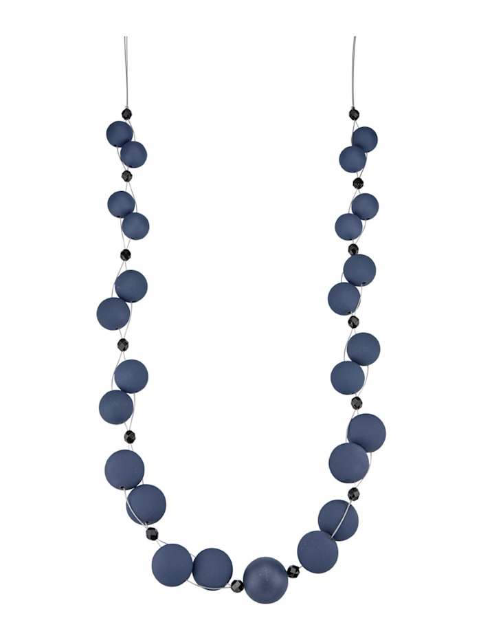 KLiNGEL Ketting Met blauwe kraaltjes, Blauw