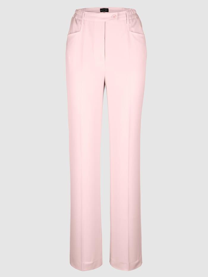 Pantalon plis permanents