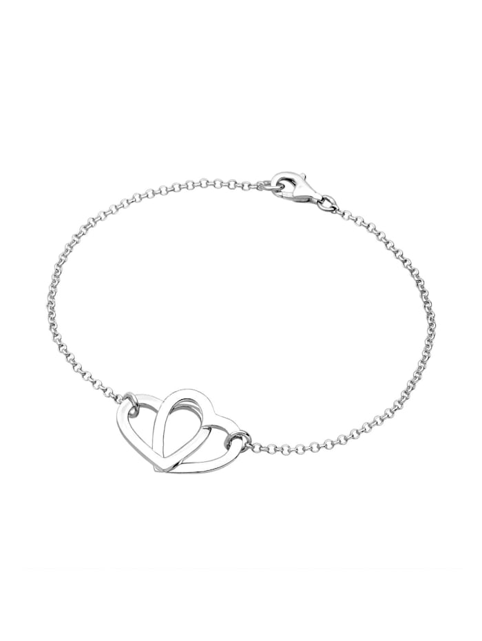 Armband Herz Symbol Klassisch 925 Sterling Silber