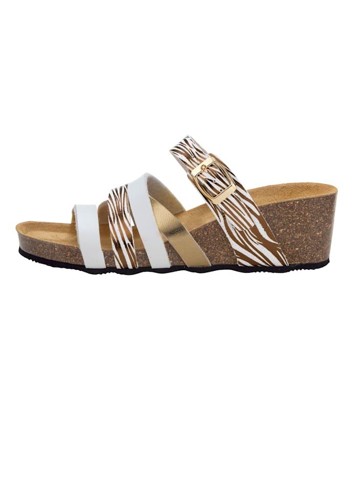 Nazouvací obuv atraktivní řemínky