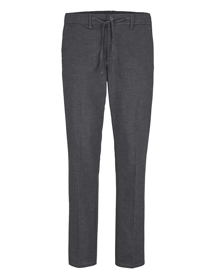 BABISTA Pantalon d'aspect laine dans une matière douce et confortable, Gris